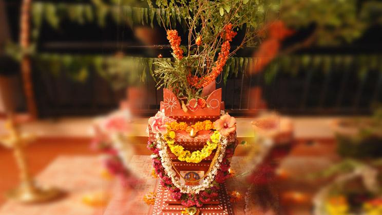 Image result for tulsi pooja,nari