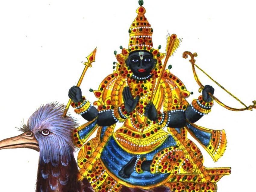 Prayer to reduce the effects of Lord Shani