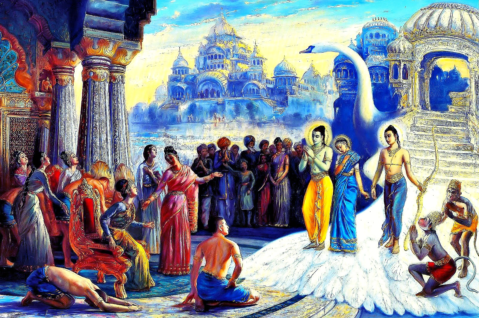 the scientific dating of the ramayana and the vedas Both the origins of hinduism and hindu  ↑ the scientific dating of the mahabharata  ↑ the problem of using astronomy in dating the vedas, ramayana,.