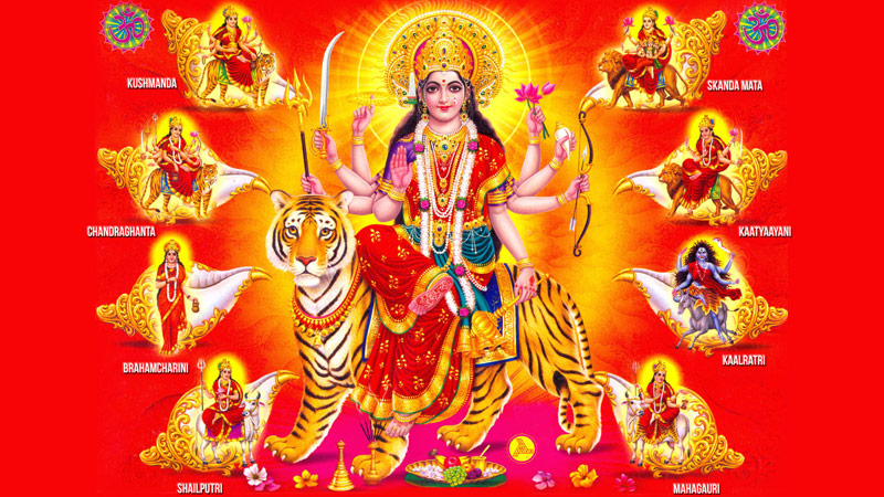 Know the NavaDurgas this Navarathri