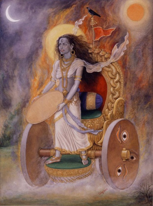 Dhumavati - One of the Dasamaha Vidhyas