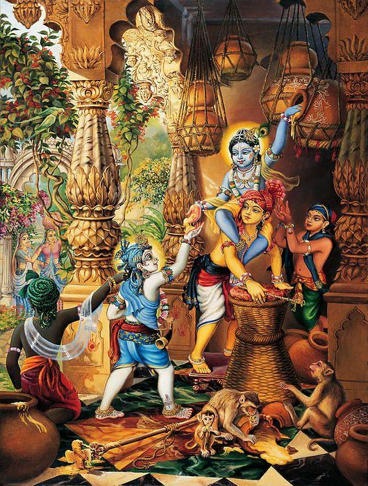 Krishna S Favorite Food