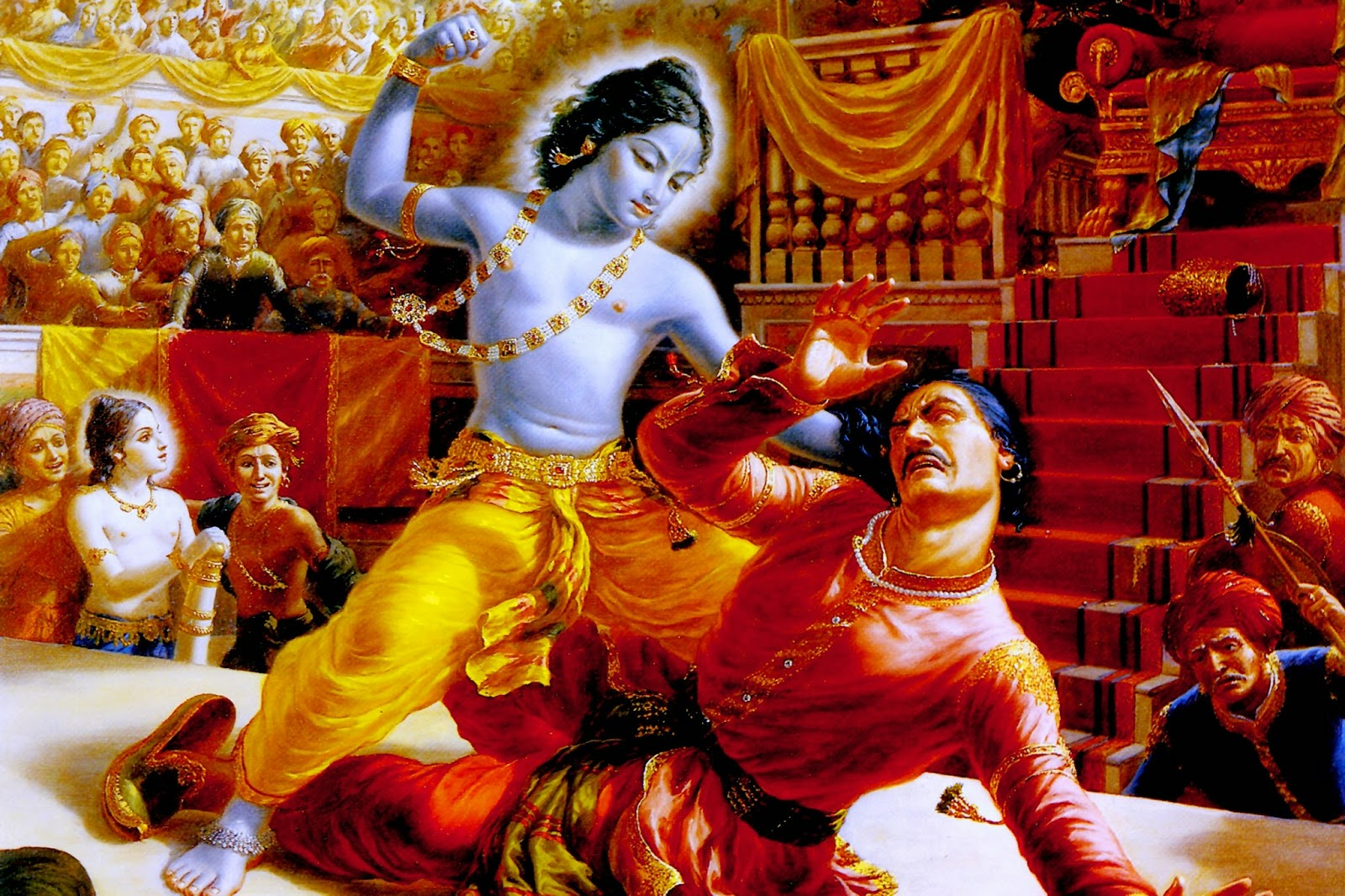 Sri Krishna Stories - Episode 20 - Krishna and Balaram come