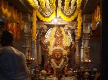 Brahmi Durgaparameshwari temple