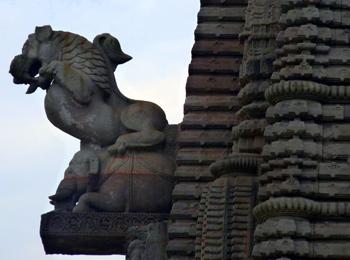 Lingaraj temple at Bhubaneswar