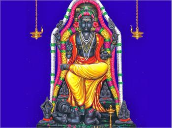 GURU or BRIHASPATI or DAKSHINAMURTHY  JUPITER  Temple