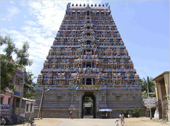 Mayuranathar Temple at Mayavaram-Dhanush