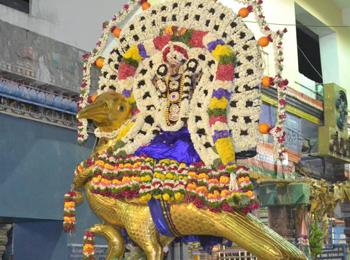Shani Bhagawan (Saturn) Temple