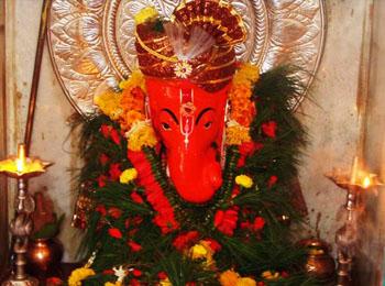 Navshya Ganpathi Temple