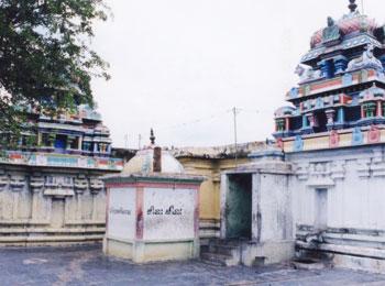 CHANDRAN  MOON  - THINGALOOR Temple
