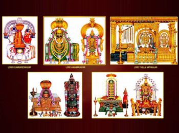 5 Primordial Elements Temple / Pancha Bootha Sthalam