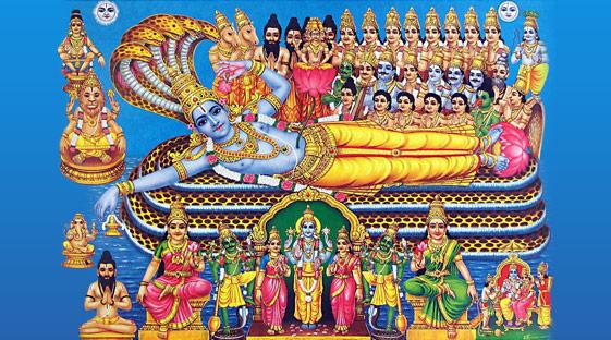 108 Abodes of Vishnu Temples